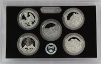 2012 America the Beautiful Silver Quarters Proof Coin Set