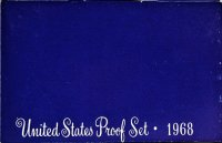 1968 U.S. Proof Coin Set