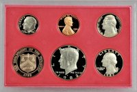 1982 U.S. Proof Coin Set