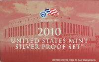 2010 U.S. Silver Proof Coin Set