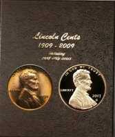 1934-2018 257-Coin Lincoln Cent Coin Set - BU - w/ Proofs