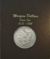 1878-1921 32-Coin Set of Morgan Silver Dollars - XF/AU
