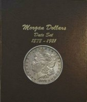 1878-1921 32-Coin Set of Morgan Silver Dollars - VG or Better