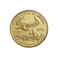 1/4 oz American Gold Eagle Coin - Random Date - Gem BU