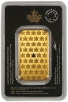 Royal Canadian Mint 1 oz Gold Bar - (in Assay)
