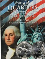 1999-2008 100-Coin Set of U.S. State Quarters - BU