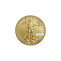 1/10 oz American Gold Eagle Coin - Random Date - Gem BU