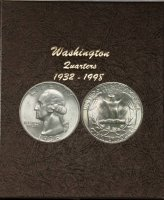 1941-1964 61-Coin Set of Washington Silver Quarters - BU