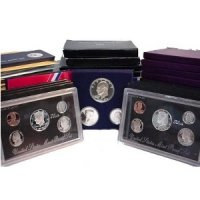All 53 1955-1998 U.S. Proof Coin Sets (includes 1992-98 Silver Sets)