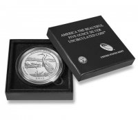 2015-P 5 oz Bombay Hook ATB Silver Coin - Special Finish