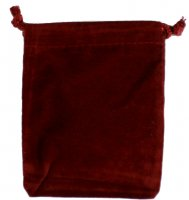 Velvet Coin Pouch (Burgundy) - Save On Quantities!