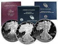 1986-2020 34-Coin Complete 1 oz American Proof Silver Eagle Coin Set - Gem Proof (w/ Boxes & COAs)