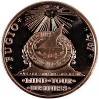 1 oz Copper Round - 1787 Fugio Cent Design