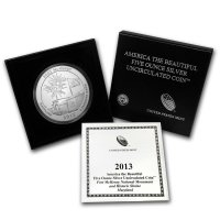2013-P 5 oz Fort McHenry ATB Silver Coin - Special Finish