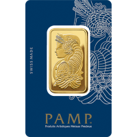 PAMP Suisse Lady Fortuna 1 oz Gold Bar - (Veriscan®, In Assay)