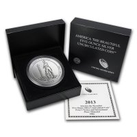 2013-P 5 oz Perry's Victory ATB Silver Coin - Special Finish