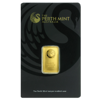 Perth Mint 5 gram Gold Bar - (In Assay)