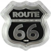 1 oz Silver Missouri Gateway Arch Icons of Route 66 Shield Series
