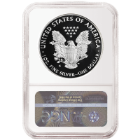2020-S 1 oz Proof American Silver Eagle Coin - NGC PF-70 Ultra Cameo
