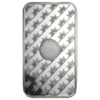 5 oz Silver Bar - Sunshine Minting - (Mint Mark SI™) Front