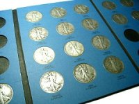 1941-1947 20-Coin Short Set of Walking Liberty Silver Half Dollars - VG+