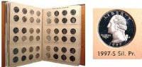 1965-1998 103-Coin Set of Washington Quarters - BU - w/ Proofs