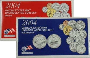 2004 U.S. Mint Coin Set