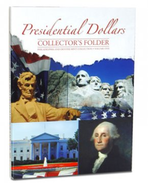 Presidential Dollars Collectors Deluxe Folder - Volume one