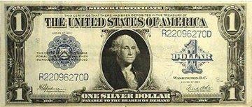 1923 $1.00 Silver Certificate - Large Type - Fine