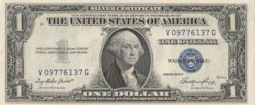 1935 $1.00 Silver Certificate - Crisp Uncirculated