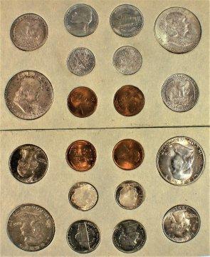1951 U.S. Silver Mint Coin Set
