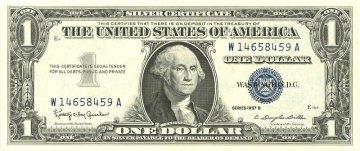 1957 $1.00 Silver Certificate - Gem Crisp Uncirculated