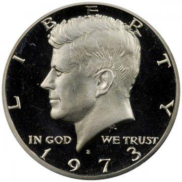 1973-S Kennedy Proof Half Dollar Coin - Choice PF