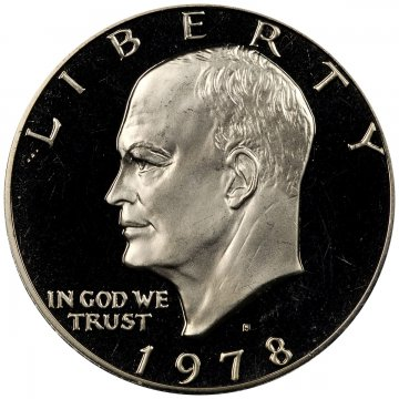 1978-S Eisenhower Dollar Coin - Proof