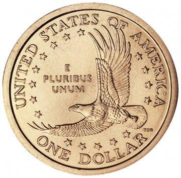 2001 Sacagawea Golden Dollar Coin - P or D Mint