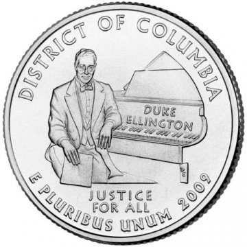 2009 District of Columbia Quarter Coin - P or D Mint - BU