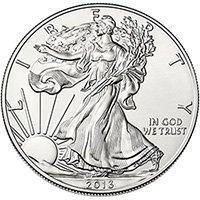 2013-W 1 oz American Burnished Silver Eagle Coin - Gem BU (w/ Box & C.O.A.)