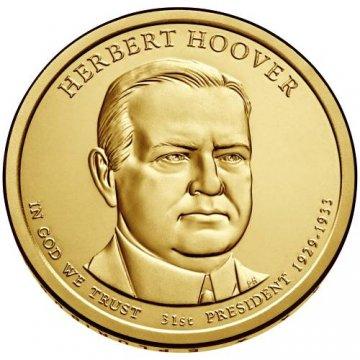2014 Herbert Hoover Presidential Dollar Coin - P or D Mint