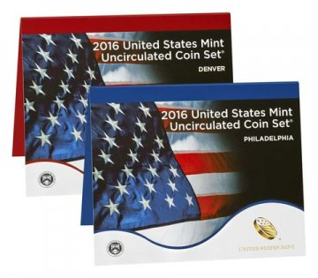 2016 U.S. Mint Coin Set