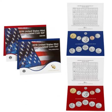 2018 U.S. Mint Coin Set