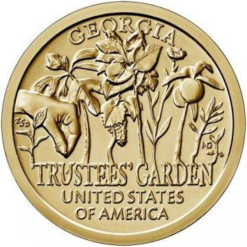 2019 Georgia American Innovation Dollar Coin - P or D Mint