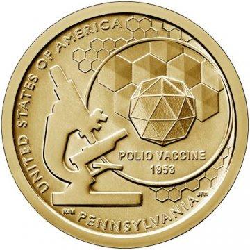 2019 Pennsylvania American Innovation Dollar Coin - P or D Mint