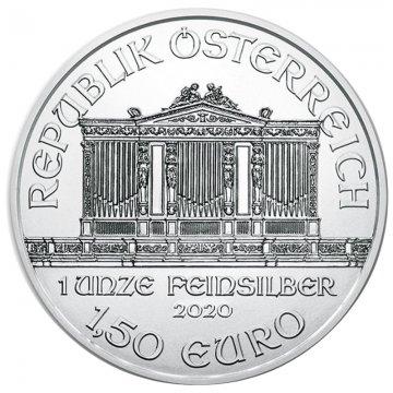 2020 1 oz Austrian Silver Philharmonic Coin - Gem BU