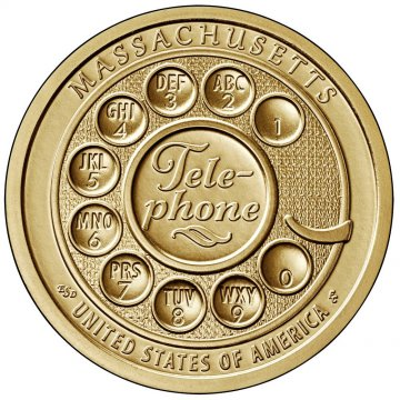 2020 Massachusetts American Innovation Dollar Coin - P or D Mint