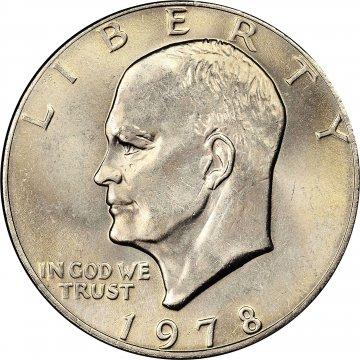 1978 Eisenhower Dollar Coin - Choose Mint Mark - BU