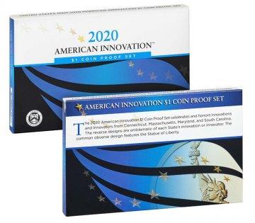 2020 American Innovation Dollar Proof Coin Set