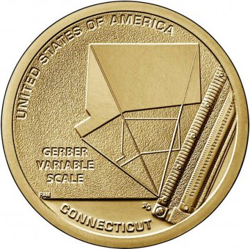 2020 Connecticut American Innovation Dollar Coin - P or D Mint
