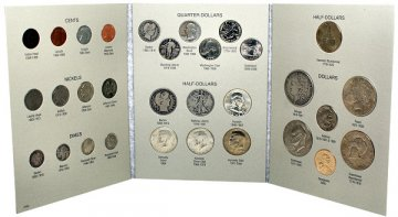 20th Century Type Coin Set - 31 Coins
