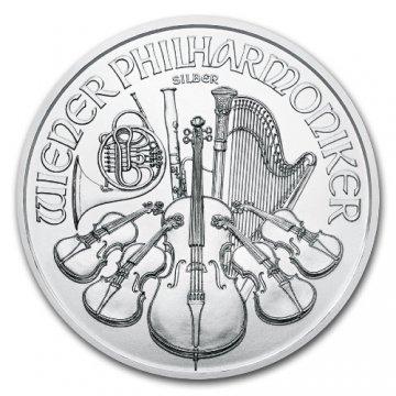 2021 1 oz Austrian Silver Philharmonic Coin - Gem BU