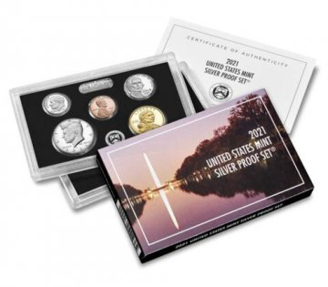 2021 U.S. Silver Proof Coin Set